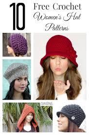 Free Crochet Hat Patterns For Women Classy 48 Free Crochet Hat Patterns For Women