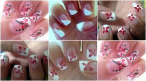 cool nail art designs to do at home simple nail art ideas for ...