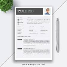 How To Create A Modern Resume In Word Resume Coloring Simple And Professional Resume Template