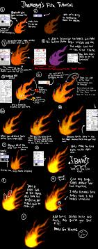 Fire Tutorial (Paint Tool SAI) by Themeguy on DeviantArt