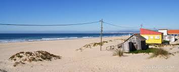 Praia da Cornélia Beach in Costa da Caparica, Almada • Portugal