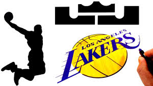 Logos just like uniforms were created for the identification of a certain team or institution. How To Draw The Lebron James And L A Lakers Logos Youtube