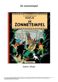 Boeken Downloaden De Zonnetempel Gratis Pdf Epub Mobi Van Hergé