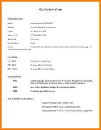 Resume Model Word Format Resume Format Sample Cv Samples In Word