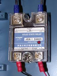 i need a relay that controls 120v 12v the garage journal board a simple way to do this is a solid state relay i bought a number of these from