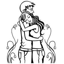 Small Picture Hug Drawing Easy Coloring Coloring Pages