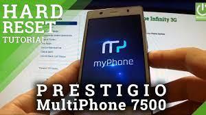 Hard Reset PRESTIGIO MultiPhone 7500 ...