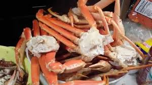 snow crab legs feast