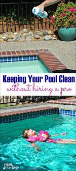 How We Keep Our Pool Water Clean Without Hiring A Service - pool care tips  and