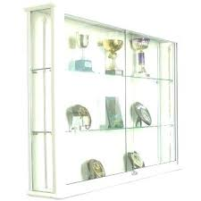 corner display cabinet glass wall mounted cabinets new from displ