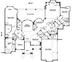 Charming European Style House Plan 5 Beds 00 Baths 5500 Sq Ft 135 ...