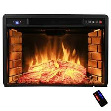 free standing electric fireplace reviews akdy 28 freestanding electric fireplace insert heater in black with