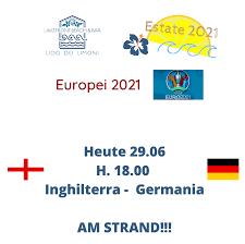Lido dei Limoni - Breaking News!!!! Stasera Inghilterra - Germania in  diretta su RAI1!!!! Seguila su maxischermo al Lido dei Limoni!  #lidodeilimoni #summertime #beachlife