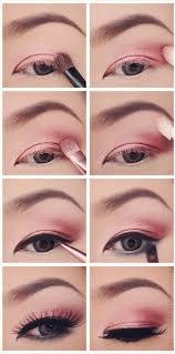 pink y eye makeup tutorial step by step pinkperception