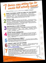 series 7 cheat sheet cheat sheet 7 genius email copy writing tips mandyoneill