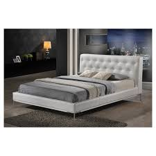 white modern platform bed. White Modern Platform Bed