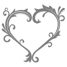 ハート枠 花植物イラスト Flode Illustration フロデイラスト