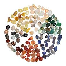 MCombo Aquarium <b>Gravel</b> Gem Polished <b>Natural Agate</b>, Stone Filler