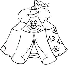 Small Picture Circus Tent Coloring Page aecostnet aecostnet