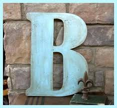 24 inch wood letter gallery of extra large wooden b