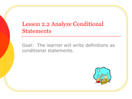 Write A Conditional Statement From The Venn Diagram 3 1 Conditional Statements Lesson