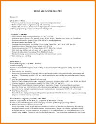 Example Of Qualifications In Resume 60 qualifications for resume the stuffedolive restaurant 2