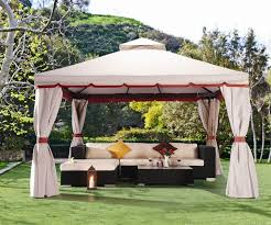gazebo and tents