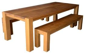 crate barrel big sur table and benches 3 400 est retail 2 200