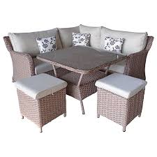 garden dining set. buy lg outdoor saigon riviera modular petite dining set, natural online at johnlewis.com garden set