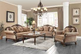 antique style traditional formal living