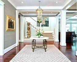 foyer area rugs entryway rug ideas area rugs cool example of a transitional foyer design in foyer area rugs