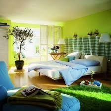 Green Bedroom Open Space