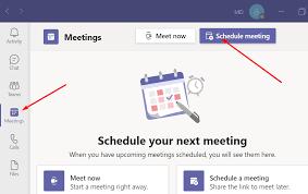 recurring meeting in teams