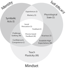 Identity Venn Diagram Mindsets And Science Persistence Chicks Dig Science