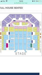 3 face value tickets for take that sheffield flydsa arena saay 13 april 2019 block b