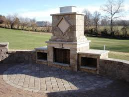 image of firerock outdoor fireplace kits