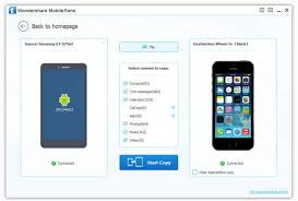 Phone to Phone Transfer Screenshots How to transfer from iPone to