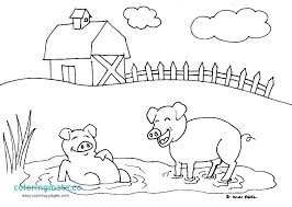 Farm Animal Coloring Pages Free Farm Animal Farm Animal Coloring