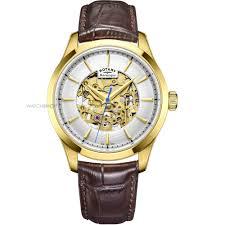 men s rotary mecanique skeleton automatic watch gs05035 03 mens rotary mecanique skeleton automatic watch gs05035 03