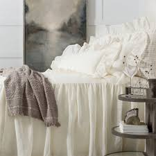 home bedding bath by brand pine cone hill coverlets shams pine cone hill linen mesh ivory bedspread