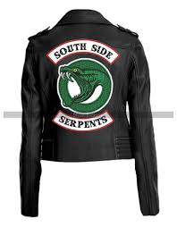 river dale south side leather jacket for women