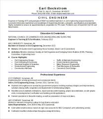 Civil Engineer Resume Sample Best Professional Resumes Letters