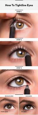 how to tightline eyes best makeup tutorials and beauty tips from the web makeup