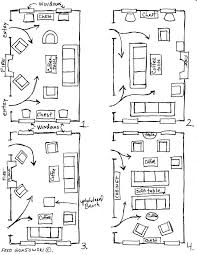 room furniture layout. Furniture Arranging Tricks And Diagrams_homesthetics.net (1) Room Layout F