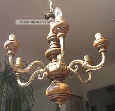 Antike Lampen Kronleuchter Schn Alte Armige Inside Aus Holz