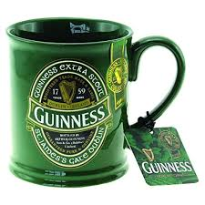 guinness ireland collection gl tankard with metal badge shamrock gift co gns5340 gift ideas