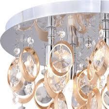 patriot lighting elegant home raina 4 light flush mount ceiling light at menards