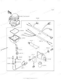 kawasaki atv 1994 oem parts diagram for optional parts(carburetor Simple Wiring Diagrams at 1994 Klf400b Wiring Diagram