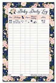 Infant Tracker Newborn Baby Log Tracker Journal Book Infant Daily Schedule