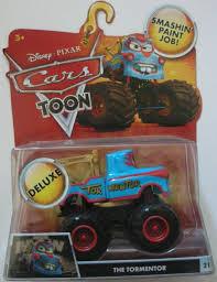 DISNEY PIXAR CARS TOON THE TORMENTOR (MATER) #21 MONSTER TRUCK MATER ...